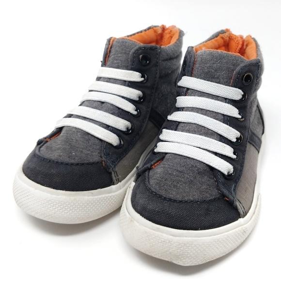 Toddler Boys High Top Sneakers Cat Jack